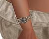 Brown Silver bracelets