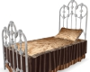antiq single bed no pose