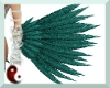 {TFB} Teal Glam Feathers