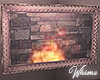 Iced Romance Fireplace