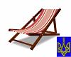Beach Chair Red