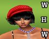[WHW] Fashion red hat B