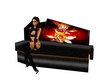 flowerflame coffin couch