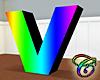 Rainbow V Animated