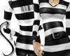 Prison Stripes Jumpsuit