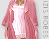 I│Satin Duster Pink