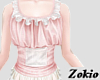 Pink dolly top