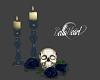Queen's Skull Deco