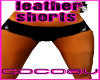 [cv]leather~shorts