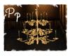 <Pp> Brass Chandelier