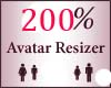200% Scaler Avatar Resiz