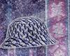 baby blue woo hat