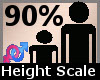 Height Scaler 90% F A