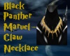 BlkPanther Claw Necklace