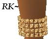 Glittering Gold Anklet R