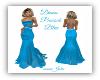 Diana Peacock Blue