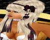 Blonde Hair W/Bow