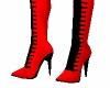 Red hot stilettos
