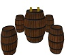barrel club table