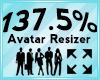 Avatar Scaler 137.5%