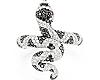 Snake Black L