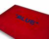 """"""" Blue"""" -rug"""