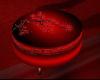 ~TQ~Red Round Couch