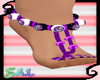Sugar Skull Beads/Purple