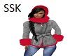 Winter Coat Fur Trim