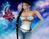 Mermaid skin blue