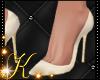 Silk Cream Heels