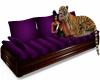 Purple Tiger Couch