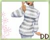 [DD]StripeySweater Grey