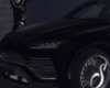 Black Lambo Urus