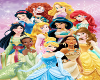 Disney Princesses Gold