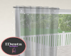 cust grey sheer curtain