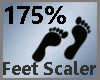Feet Scaler 175% M A