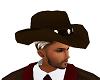BROWN COWBOY HAT M