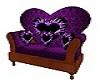 FH Purple Love Seat