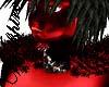 WS Red Viking Fur Collar