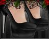*E* Black Heels