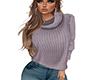 COZY Purple Sweater