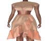 Daniella Tan.Peach Dress