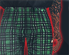 I│Plaid Pants Green