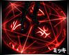 ! Pentagram Red Aura #F