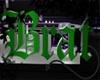 Brat Sign - Green
