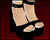 [💋] Platform Wht Sock