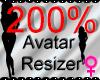 *M* Avatar Scaler 200%
