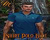 [M] T-Shirt Polo Blue