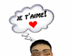Je T'Aime (sign) M/F